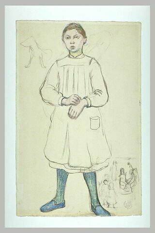Portrait de Mademoiselle Fontalirand