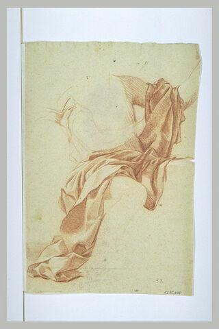 Etude de draperie pour le saint Jean Baptiste