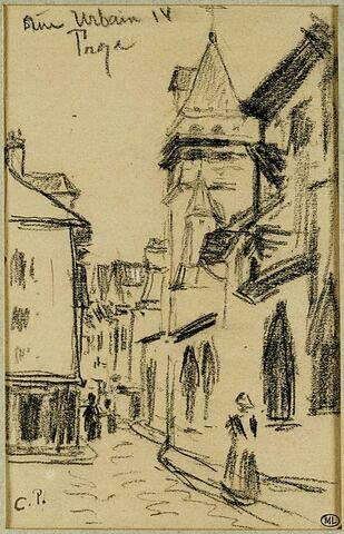 Rue Urbain IV à Troyes