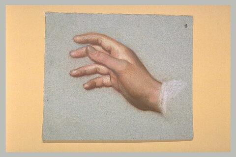 Etude de main droite