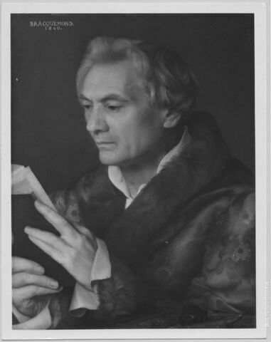 Portrait du docteur Horace de Montègre, en buste