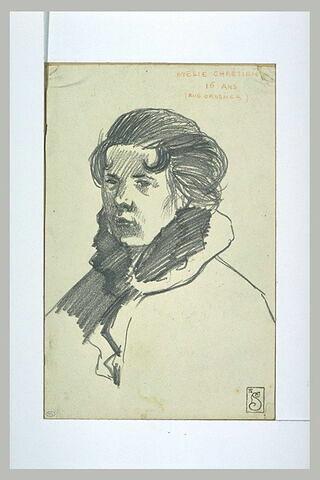 Mélie Chrétien en buste
