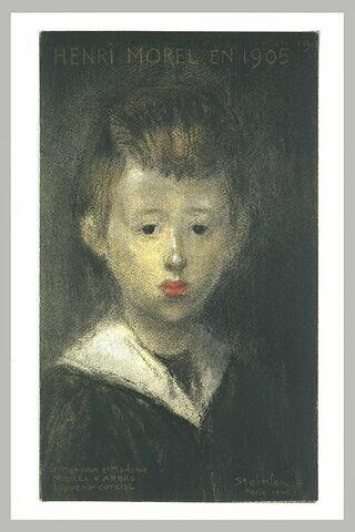 Portrait d'Henri Morel
