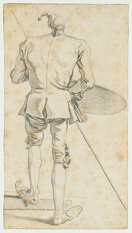 Portrait-charge du peintre Jombert