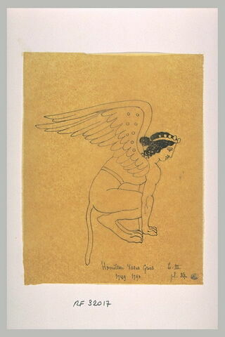 Sphinx accroupi
