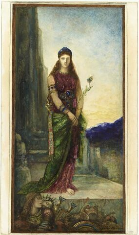 Hélène sur les murs de Troie