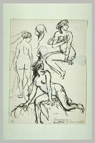 Etudes de femmes nues