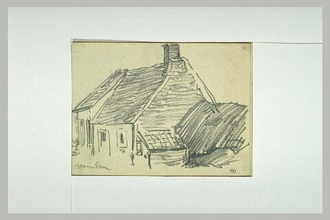 Maison au toit de tuiles