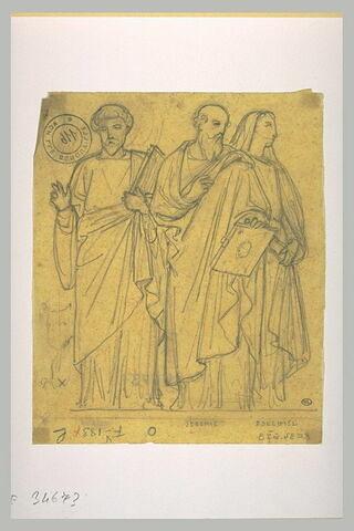 Trois prophètes d'ebout