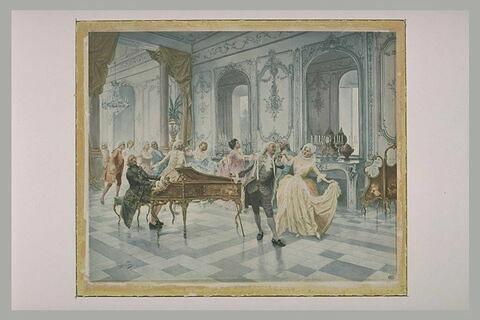 Bal époque Louis XV