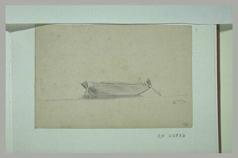 Barque avec deux pêcheurs