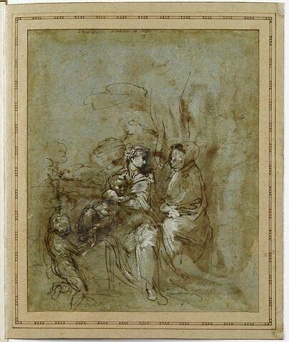 La Vierge et l'Enfant avec saint Jean-Baptiste et sainte Elisabeth