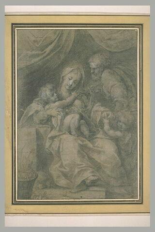 La Vierge à l'Enfant avec le petit saint Jean et saint Joseph