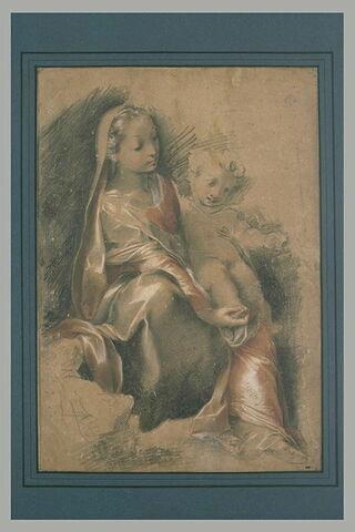 La Vierge tenant l'Enfant