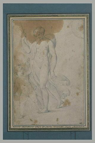 Vénus regardant l'Amour