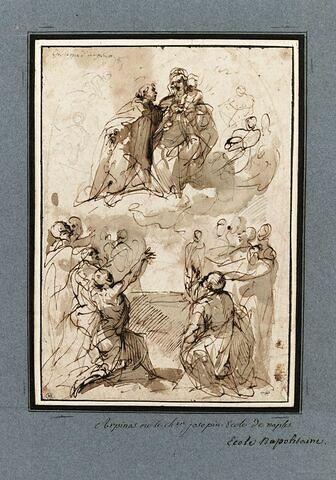 La Madone du Rosaire avec saint Dominique et les suppliciés
