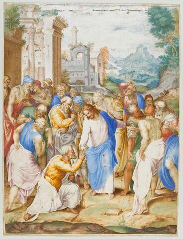 Le Christ remettant les clefs à saint Pierre