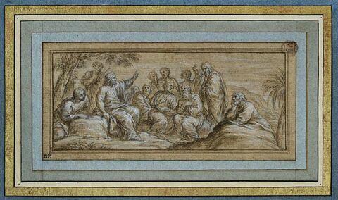 Le Christ parlant aux apôtres, sur la Montagne
