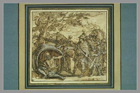 Diogène et Alexandre