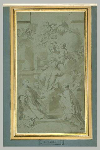 Vierge à l'Enfant apparaissant à saint Philippe Néri