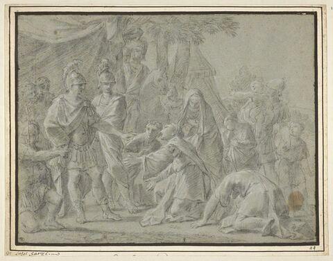 La famille de Darius ou les reines des Perses aux pieds d'Alexandre