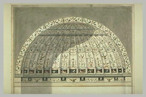 Arabesques en forme de dôme