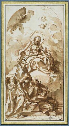Vierge et l'Enfant avec saint Charles Borromée et saint Ignace de Loyola