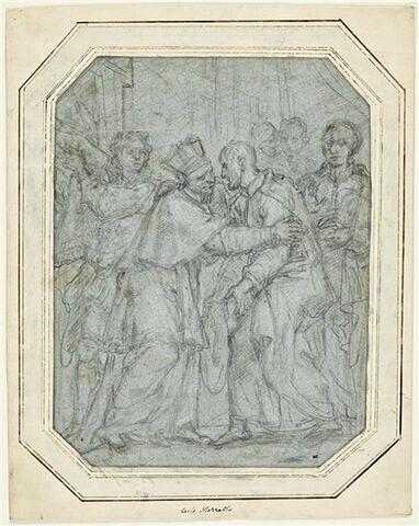 Entrevue de saint Philippe de Néri et du cardinal Baronius