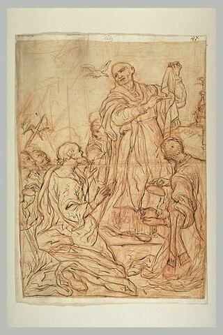Saint Grégoire piquant le brandeum