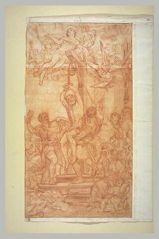Martyre de saint André (?)