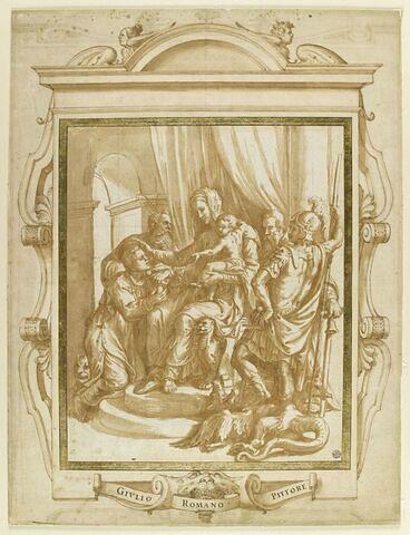 La Vierge à l'Enfant avec saint Etienne, saint Jérôme, saint Antoine abbé, saint Georges