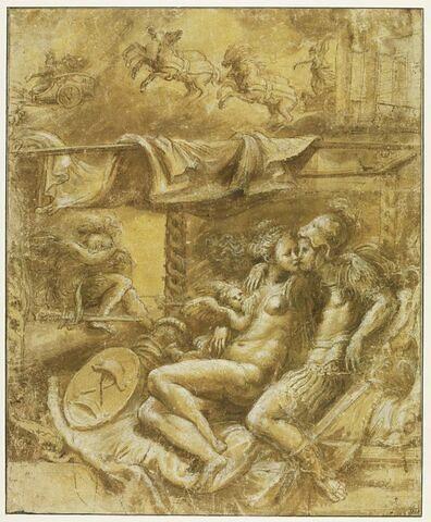 Mars et Vénus surpris par Apollon