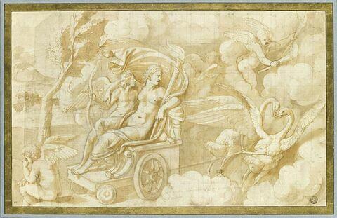 Vénus enlevant l'Amour dans son char