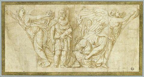 Victoire et prisonniers barbares