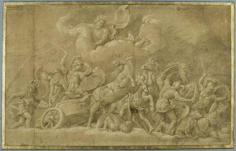 Diomède combattant les deux frères Idée et Phégie