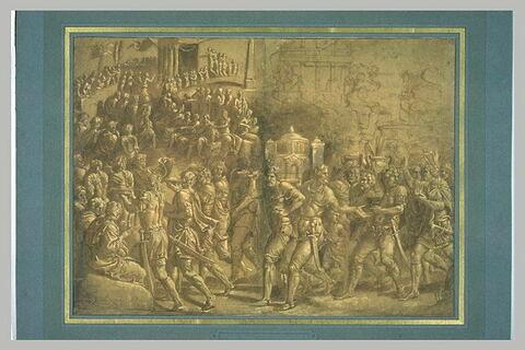 Triomphe de Scipion : la montée au Capitole