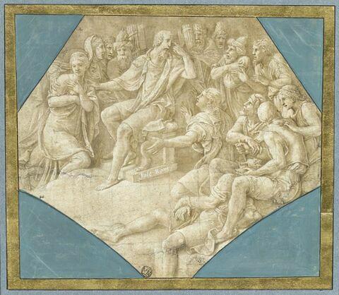 Seleucus appliquant sa loi sur l'adultère à son propre fils