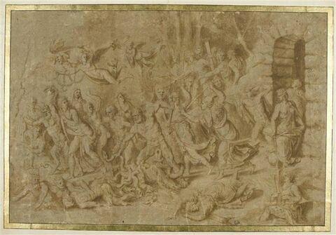 Apollon et Minerve mettant les vices en fuite