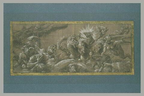 Apollon sur son Char et des signes du Zodiaque : allégorie du Printemps