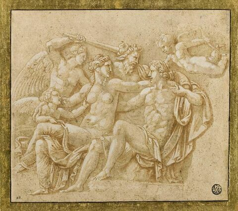 Pan, Hyménée et des Amours aux noces de Vénus et d'Adonis