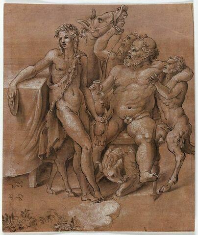 Bacchus et Silène