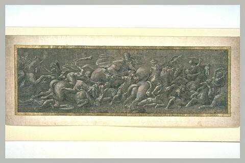 Combat entre les amazones et les Athéniens