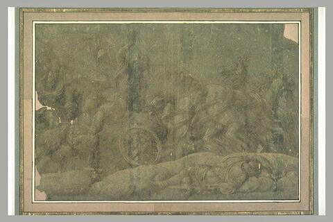 Diomède tuant Pandare avec sa lance