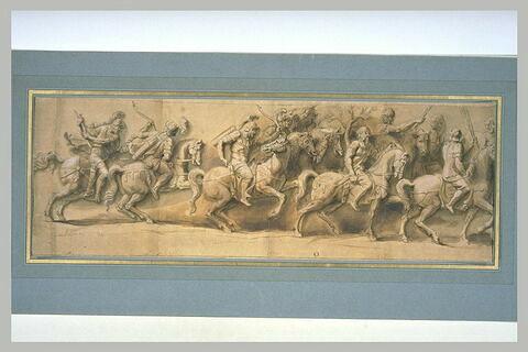 Triomphe d'un empereur romain (fragment)