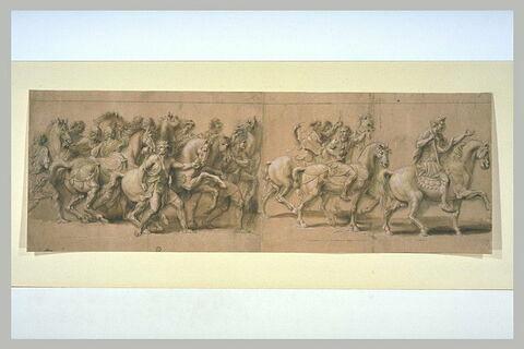 Triomphe d'un empereur romain (fragments)