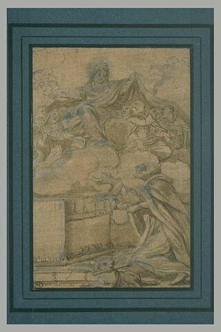 La Vierge de Miséricorde apparaissant à saint Dominique