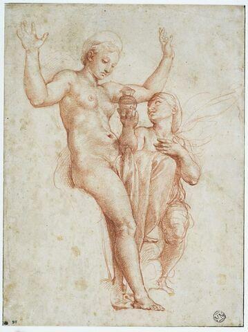Psyché présentant à Vénus l'eau du Styx ou Psyché présentant à Vénus le cadeau de Proserpine