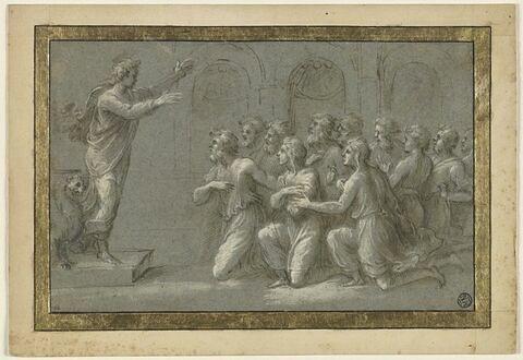 Joseph se faisant reconnaître de ses frères