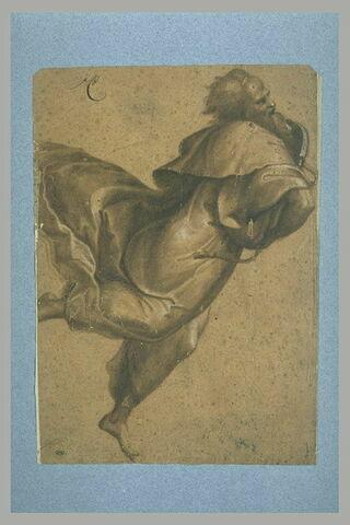 Moïse, volant vers la droite, d'après la Transfiguration