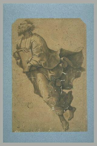 Elie, volant vers la gauche, d'après la Transfiguration